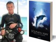 Author Mark Caney with his debut novel