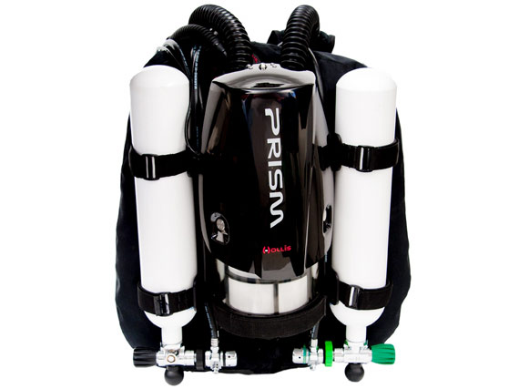 Picture of the Hollis Gear Prism 2 rebreather