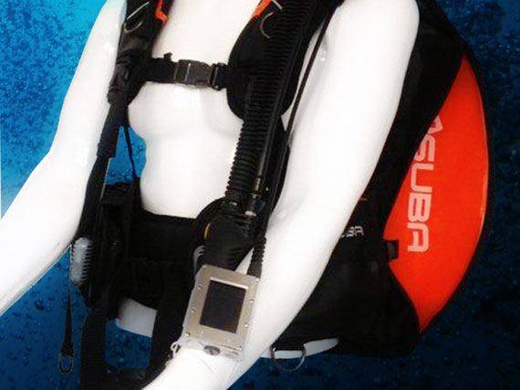 Picture of the Swiss SUBA dive autopilot