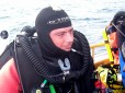 Picture of deep wreck diver Alex Vassallo of Custom Divers
