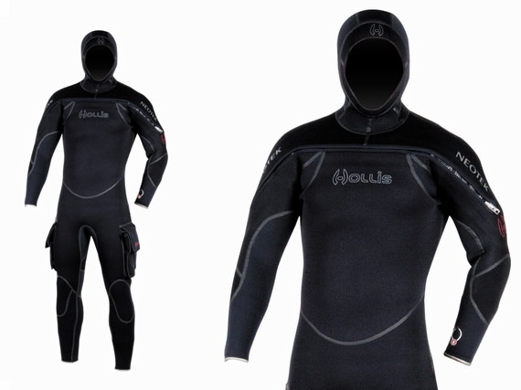 Picture of the Hollis Gear NeoTek semidry suit