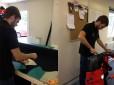 Repairs underway at Hammond Drysuits