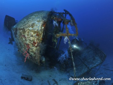 Deep wreck image - courtesy Charles Hood