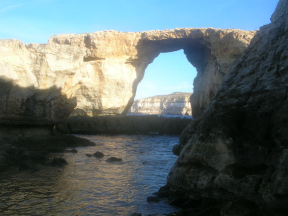 The famous Azure Window... before it collapsed