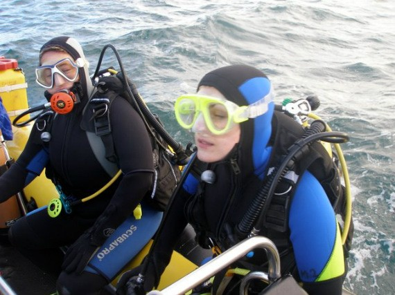 Club divers of Ireland come together