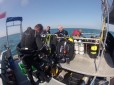 Aboard Channel Diver