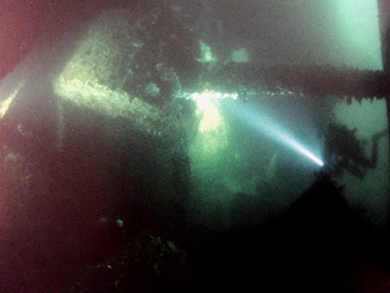 A dive in Scapa Flow