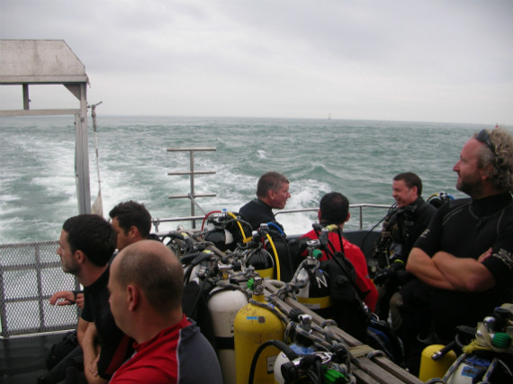 Dive charter boat
