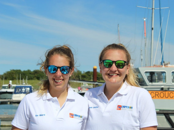 Flo and Hannah set to row the Atlantic ocean
