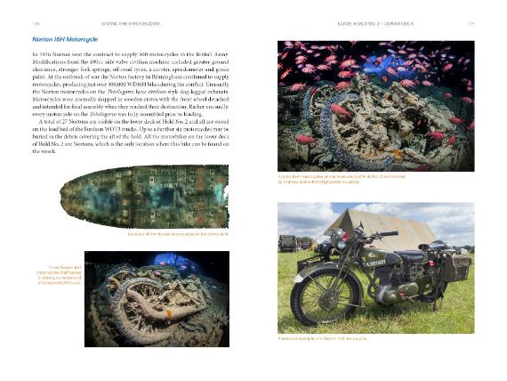 Thistlegorm - Norton motorcycles
