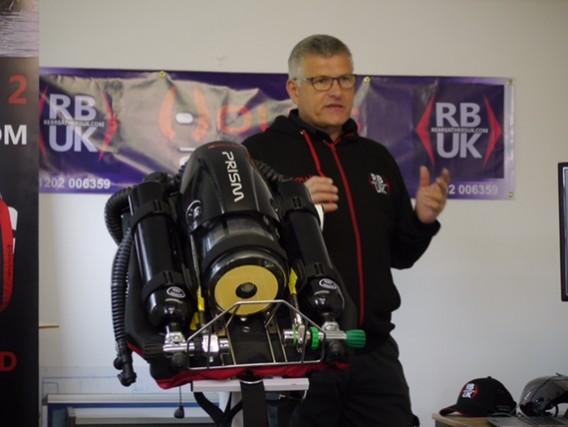 Trevor Leyland presents the Hollis Prism 2 rebreather