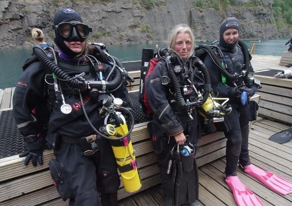 Ladies love the Hollis Prism 2 rebreather